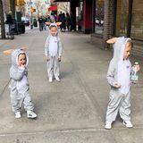 2. April 2018  Kleine Osterhasen mitten in New York City? Carmen, Leonardo und Rafael verleihen der Großstadt jedenfalls Osterstimmung.