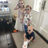 3. Juni 2018  Die drei Kids im Partnerlook. Carmen, Leonardo und Rafael sind heute einfach zu cool.