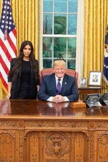 Kim Kardashian besuchte Donald Trump am Mittwoch, den 30. Mai, im Weißen Haus in Washington
