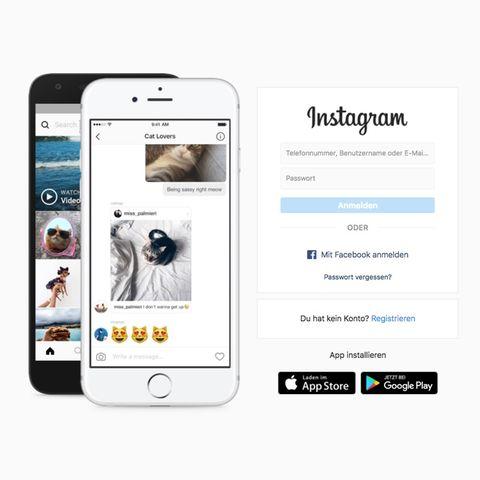 Instagram für Android und IPhone