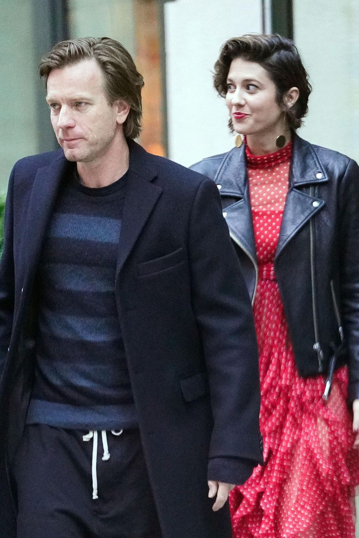Ewan McGregor und seine neue Lebensgefährtin Elizabeth Winstead