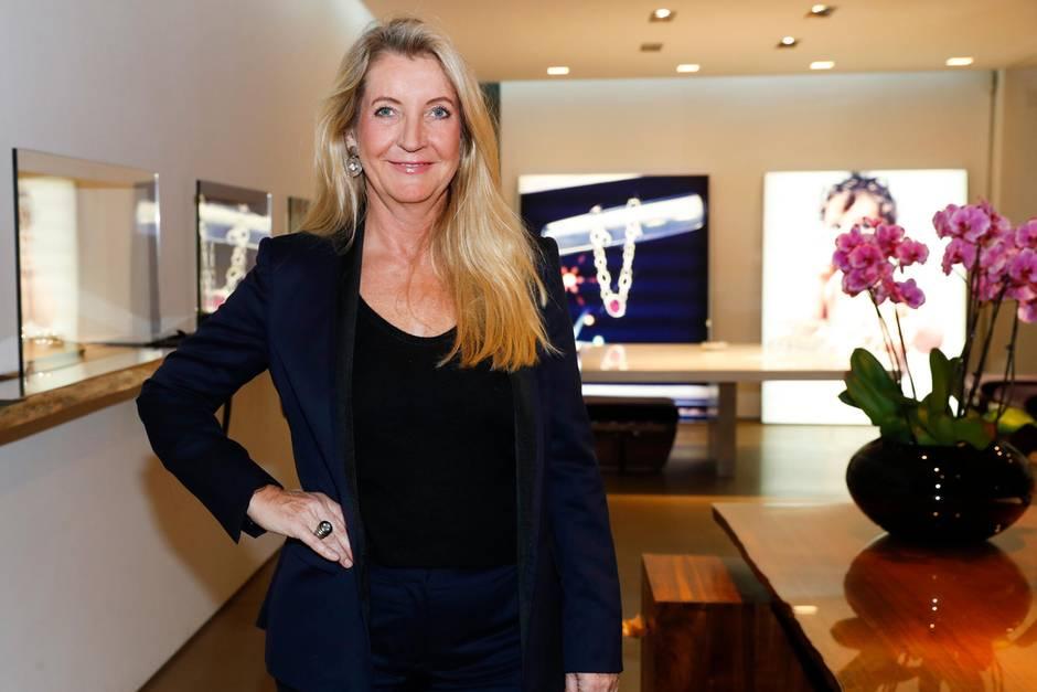 Colleen B. Rosenblat in ihrem Showroom