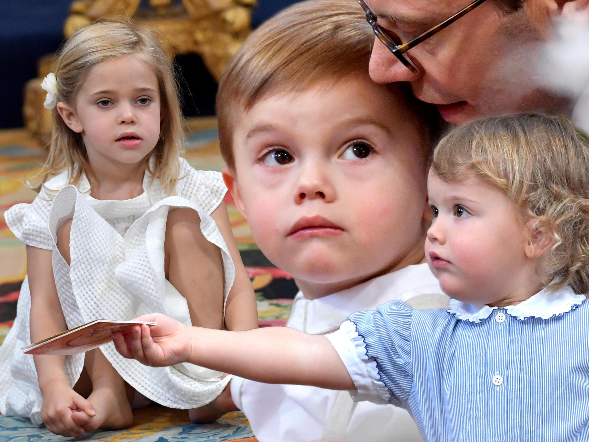 Prinzessin Leonore, Prinz Oscar, Prinz Alexander
