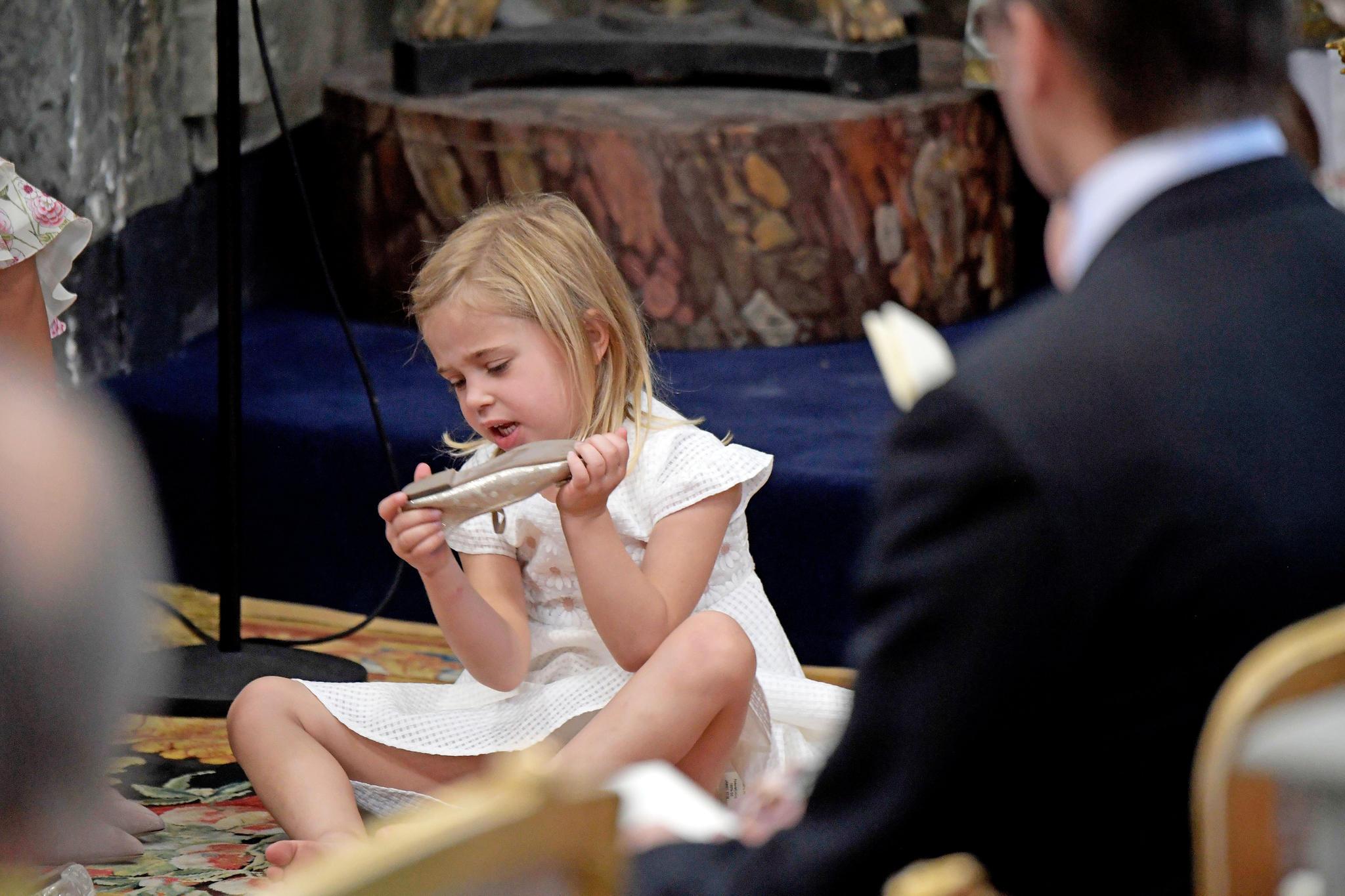 Taufe von Prinzessin Adrienne - cover