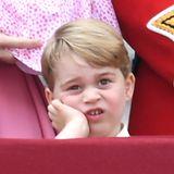 17. Juni 2017  Wie der Papa, so der Sohn: Prinz George geht es knapp 30 Jahre später nicht anders.
