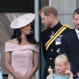 Verliebte Blicke zwischen Herzogin Meghan und Prinz Harry.
