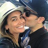 """29. September 2017  """"Ich liebe Dich einfach so sehr..."""" schreibt Jana Ina Zarrella zu diesem Bild. Gemeint ist ihr Ehemann Giovanni Zarrella."""