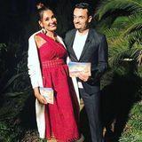 """2. Oktober 2017  Nicht nur privat versteht sich das Pärchen blendend, auch beruflich harmonieren Jana Ina und Giovanni hervorragend zusammen. Gemeinsam moderieren sie die TV-Datingshow """"Love Island"""""""