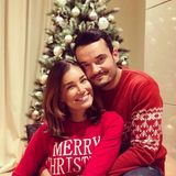 """24. Dezember 2017  """"MERRY CHRISTMAS Jesus ist geboren! Wir wünschen Euch viel Frieden und Geborgenheit mit euren Familien!"""" postet Jana Ina Zarrella auf ihrem Instagram-Account."""