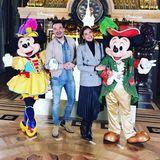 10. März 2018  Lustige Grüße von Micky und Minnie Maus aus dem Disyneyland Paris.