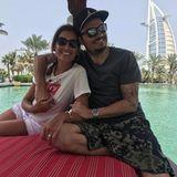6. April 2018  Und noch ein entspanntes Pärchenbild aus Dubai. Jana Ina und Giovanni lassen es sich so richtig gut gehen.