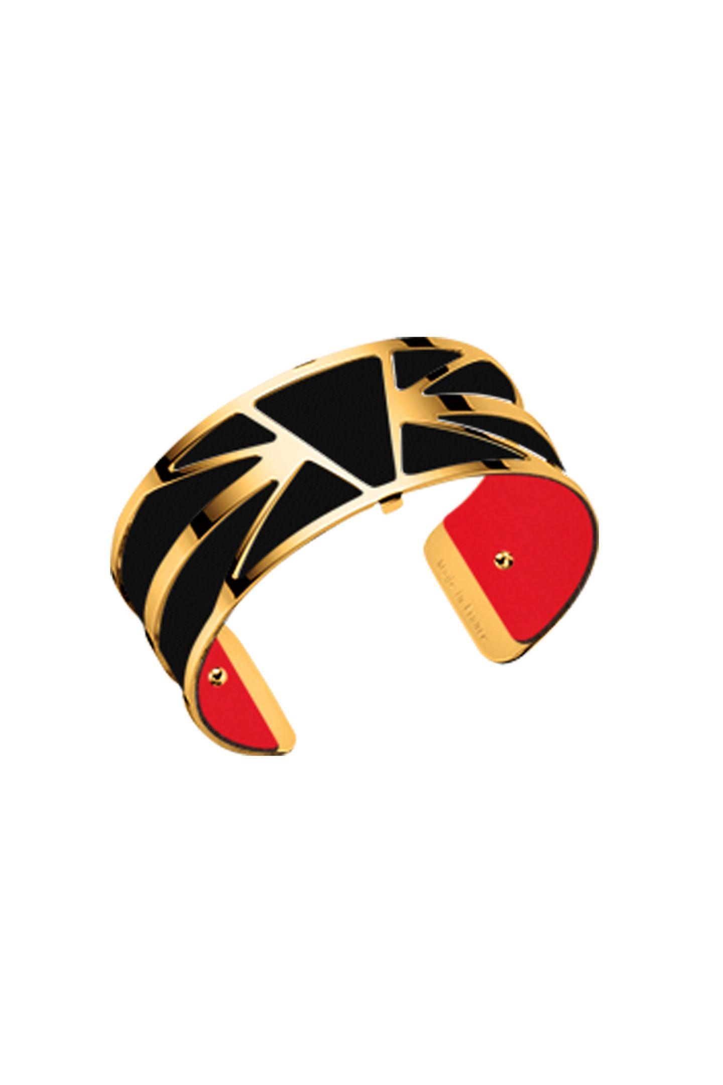 Flagge zeigen mal anders: Mit dieser vergoldeten Armspange bietet Les Georgettes das perfekte Accessoire zum Trikot. Ca. 74 Euro.
