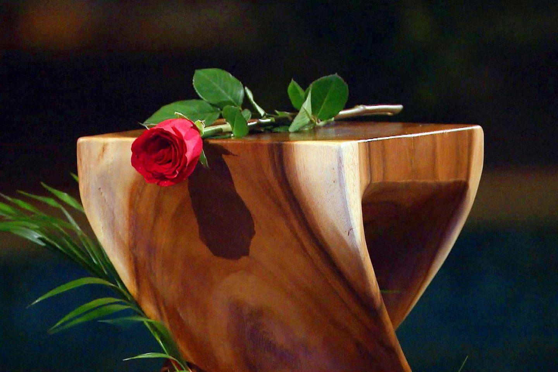 Wer gibt wem die letzte Rose?