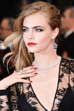 Million Dollar Babe: Cara Delevingne.