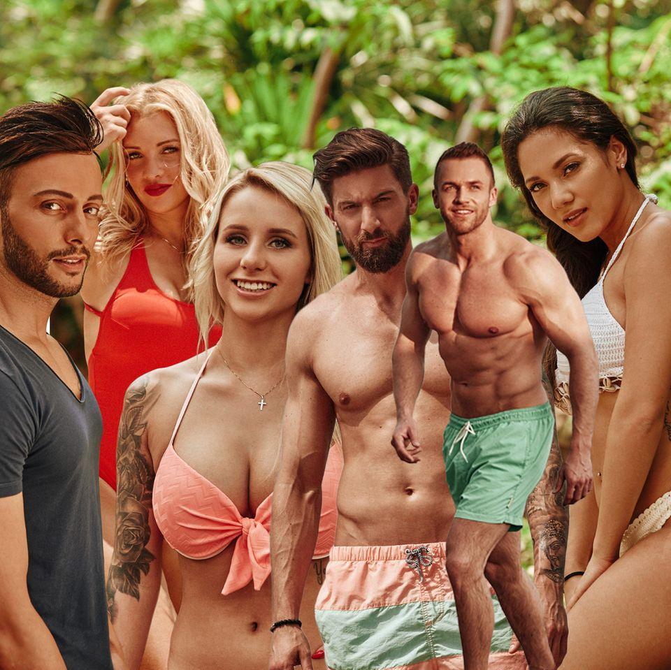 """""""Bachelor in Paradise""""-Finalisten"""