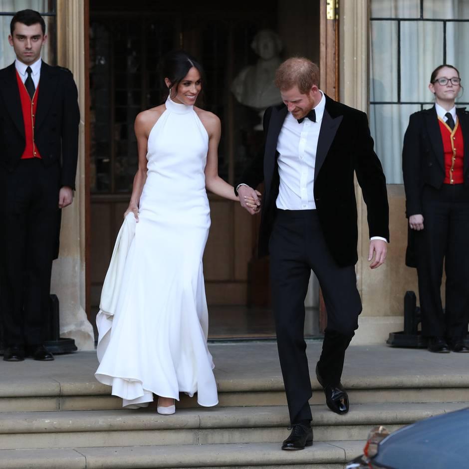Ihr Brautkleid bedeutete den großen Wendepunkt