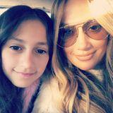 9. Februar 2018  Die Ähnlichkeit zwischen Mutter und Tochter ist keinesfalls zu leugnen. Jennifer Lopez posiert mit TochterEmme Maribel Muñiz