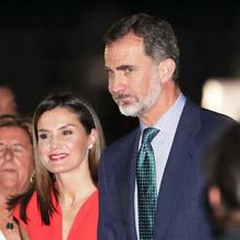 Königin Letizia + König Felipe