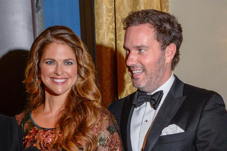 2014 kamen Prinzessin Madeleine und Chris O'Nell zusammen zu der Preisverleihung.