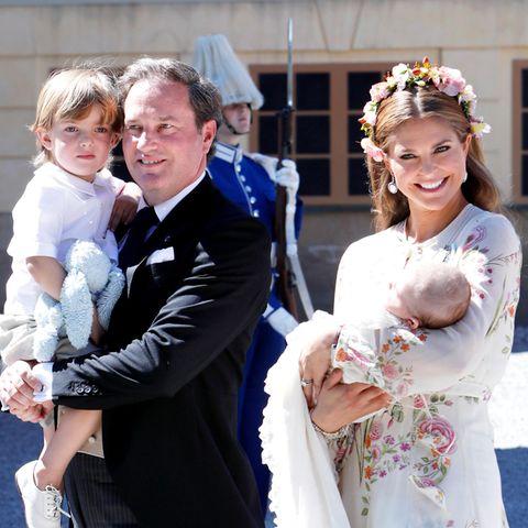 Prinz Nicolas, Chris O'Neill, Prinzessin Madeleine, Prinzessin Adrienne
