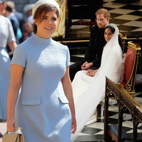 Prinzessin Eugenie, Prinz Harry + Herzogin Meghan