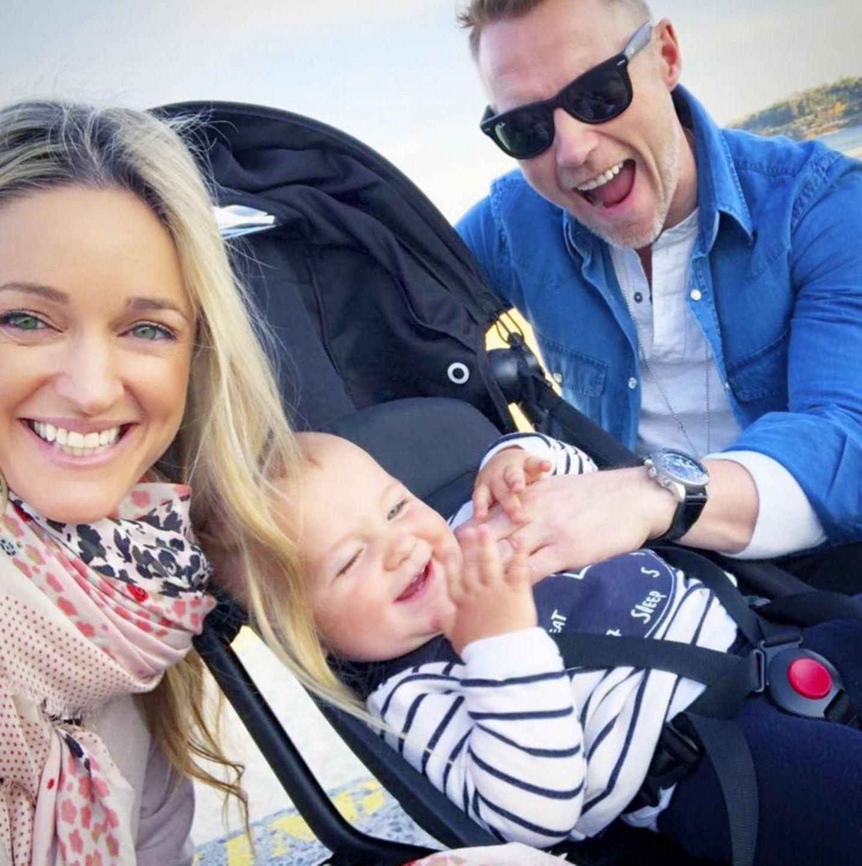 28. Mai 2018  Etwas übermüdet von der Reise,aber glücklich sind Ronan, Storm und der kleine Cooper in Sydney angekommen.