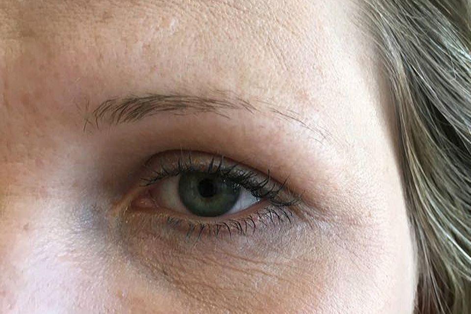 Meine Augenbrauen wirken ohne Schminke leider sehr dünn und farblos