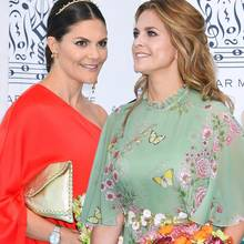 Die drei schwedischen Prinzessinnen: Victoria, Madeleine + Sofia