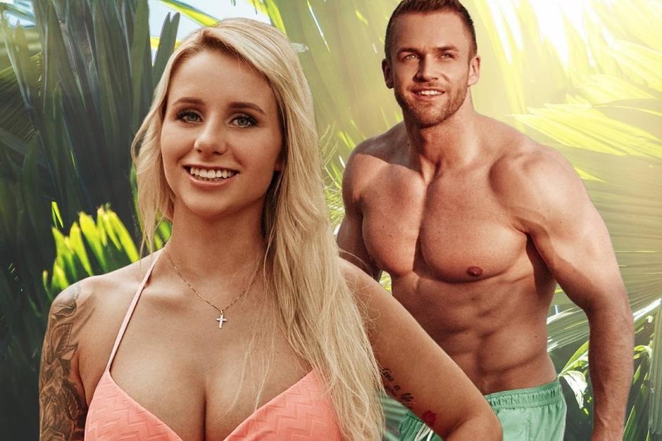 """Carina Spack und Philipp Stehler, Kandidaten bei """"Bachelor in Paradise"""""""