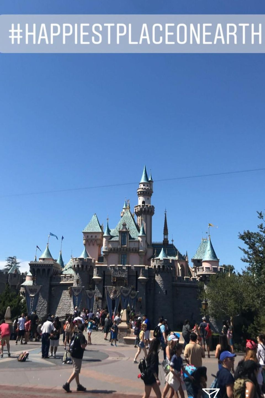 Das berühmte Disney-Märchenschloss, fotografiert von Bill Kaulitz