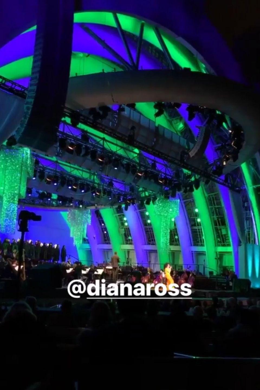 Bill Kaulitz bei Diana Ross