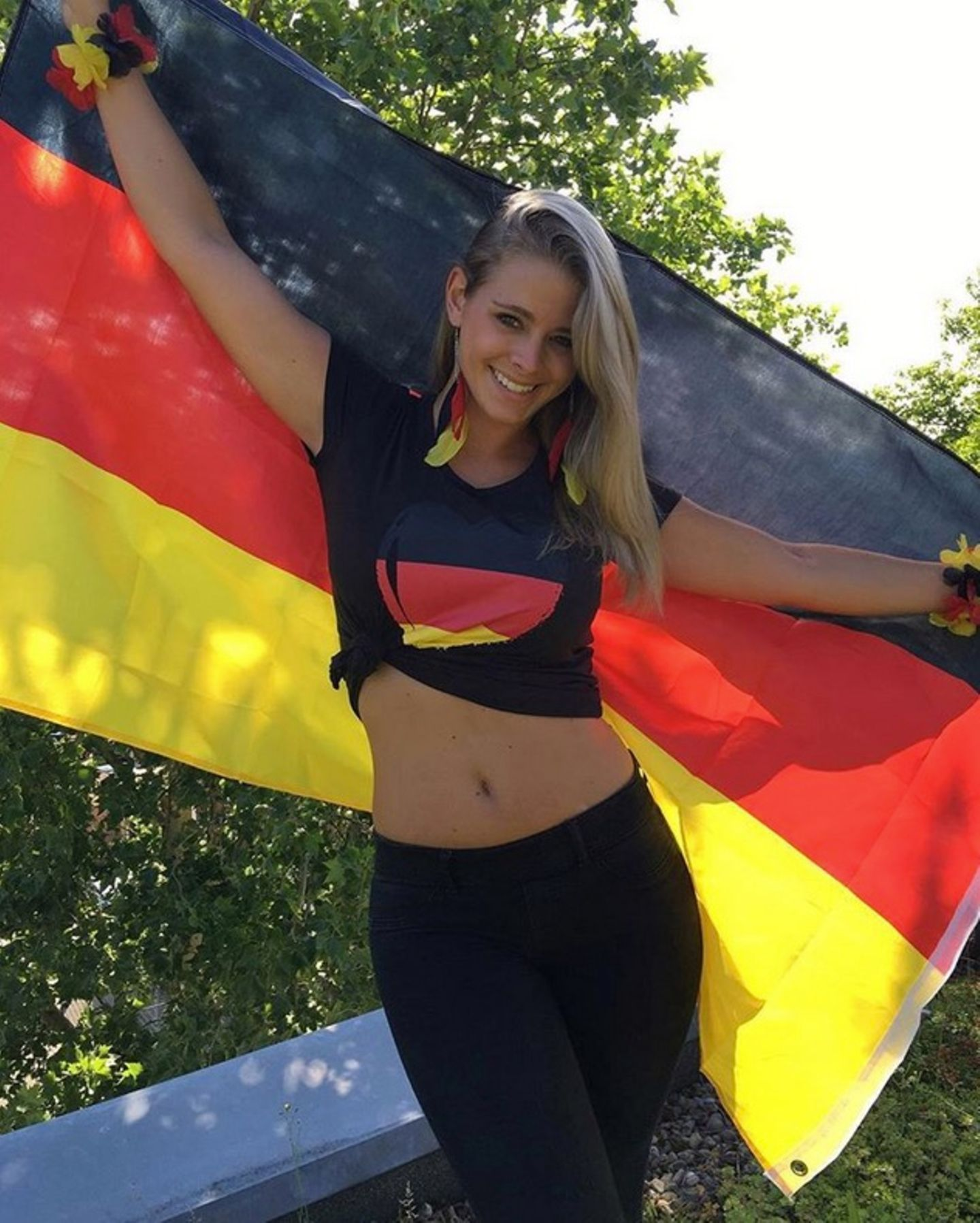 Saskia Atzerodt hat das Fußballfieber gepackt.