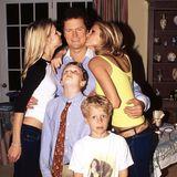 Paris Hilton kramt zum Vatertag extra tief in der Fotokiste: Ihr Vater Richard Hilton darf sich bei solch schönen Kids wirklich freuen.