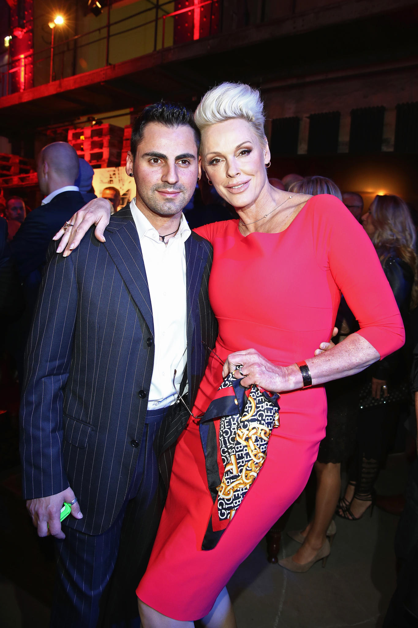 Brigitte Nielsen Affirmative Love Statement To Mattia