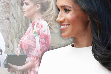 Lady Kitty Spencer + Herzogin Meghan