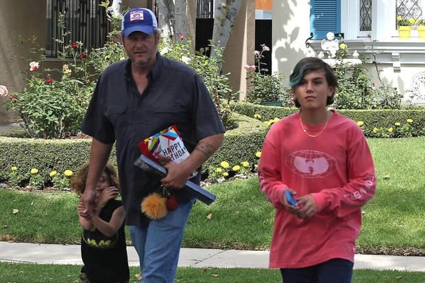 Blake Shelton verbringt Vatertag mit den Kindern seiner Freundin Gwen Stefani