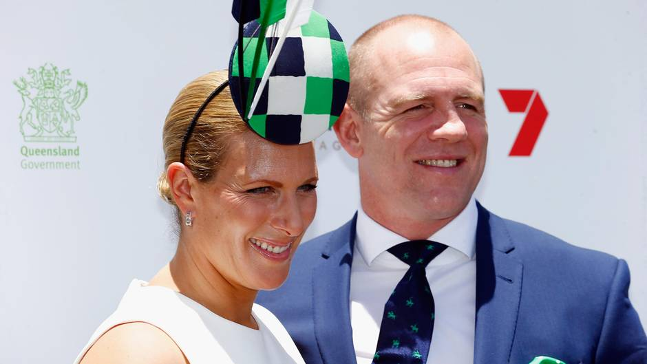 Zara Phillips, Mike Tindall