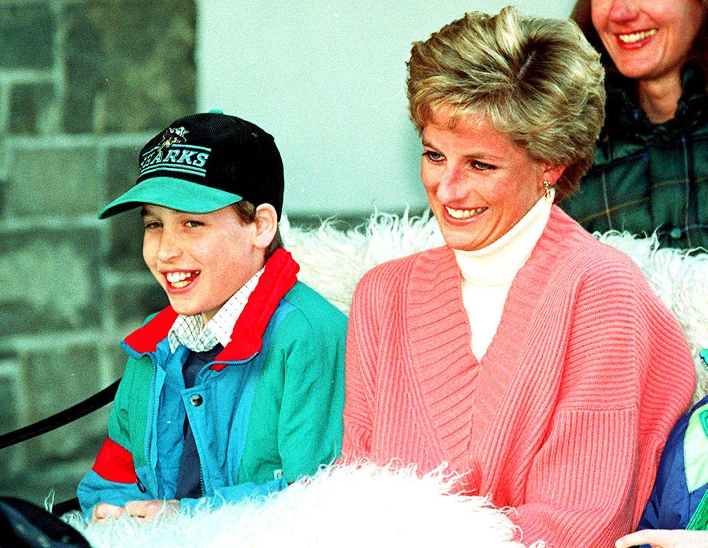 """Prinzessin Diananannte ihren Sohn Prinz William als Kind """"Wombat"""", nachdem die Royal Family auf großer Australien-Reise mit den süßen Beuteltieren in Kontakt kam."""