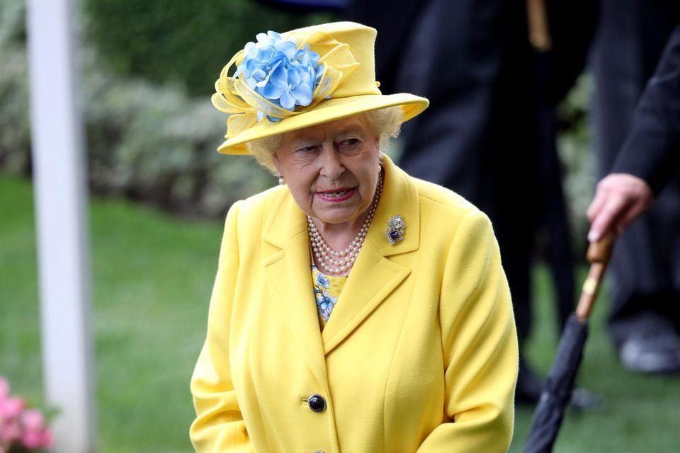 Queen Elizabeth mag's bunt