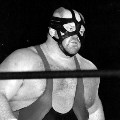"""Wrestler Leon White, bekannt als""""Big Van Vader"""""""