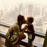 """24. März 2018  """"Die größte Liebe meines Lebens bist und bleibst immer du"""" schreibt Sarah Lombardi zu diesem rührenden Foto mit dem kleinen Alessio."""