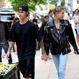 21. Juni 2018  Hand in Hand und ganz verliebt schlendern Justin Bieber und Hailey Baldwin durch New York. Das Pärchen genießt die gemeinsame Zeit offensichtlich in vollen Zügen.