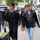 21. Juni 2018  Justin und Hailey genießen die gemeinsame Zeit zu zweit in vollen Zügen!Frisch verliebt Hand in Hand schlendert das Pärchen durch die Straßen von New York.
