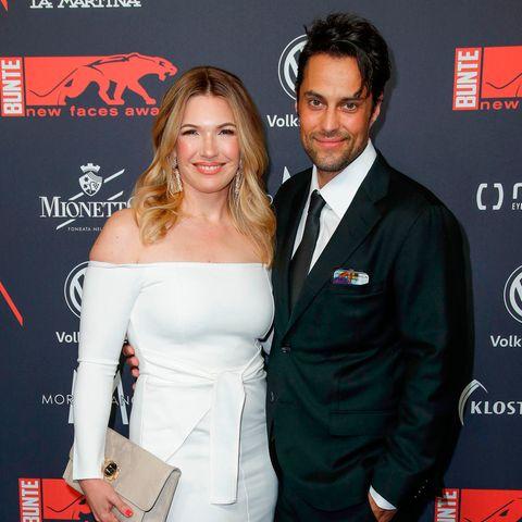 Sportmoderatorin Jessica Kastrop mit ihrem Mann Roman Libbertz