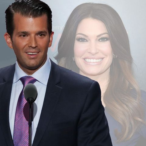 Donald Trump Junior und  Kimberly Guilfoyle.