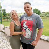 Der kölsche TV-Kultstar Frank Fussbroich (49) und seine Ehefrau Elke Fussbroich (51)