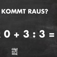 Rechenrätsel: Können Sie diese Rechenaufgabe lösen?
