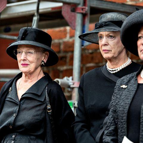 Königin Margrethe mit ihren Schwestern Anne-Marie und Benedikte