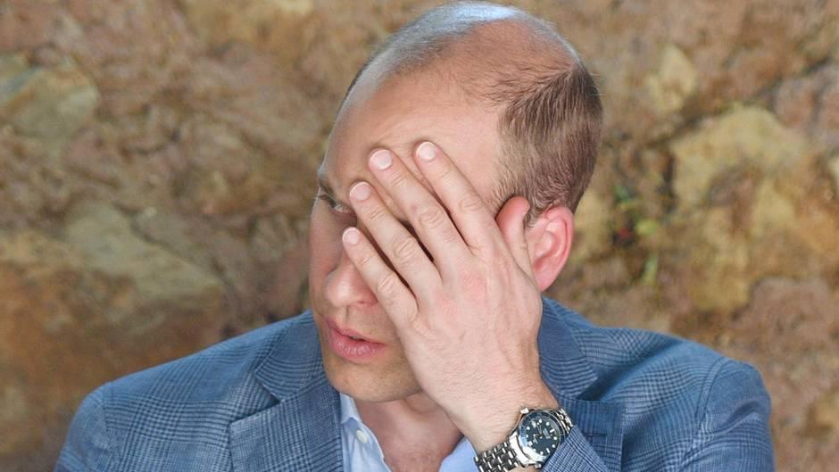 Prinz William in Jordanien: Damit hat er garantiert nicht gerechnet