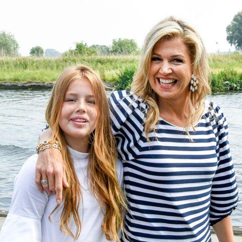 Prinzessin Alexia + Königin Màxima
